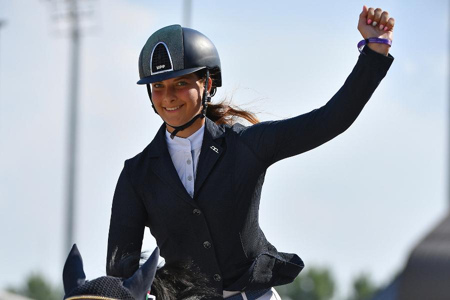Sára Vingrálková zvítězila v úvodu GC PlayOffs